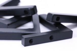 樹脂加工 プラスチック加工 POM(黒)