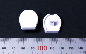 樹脂加工 プラスチック加工 ABS(白)