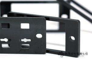 樹脂加工 プラスチック加工 紙ベークライト(黒) コストダウン