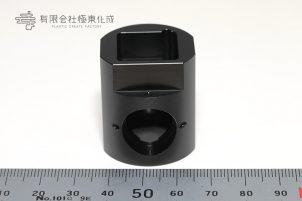 樹脂加工 プラスチック加工 POM(黒) 大阪 コストダウン