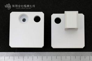 樹脂加工 プラスチック加工 PVC(塩ビ 白) 大阪 コストダウン