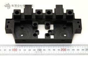 樹脂加工 プラスチック加工 ポリカーボネート(黒) 大阪 コストダウン PC黒
